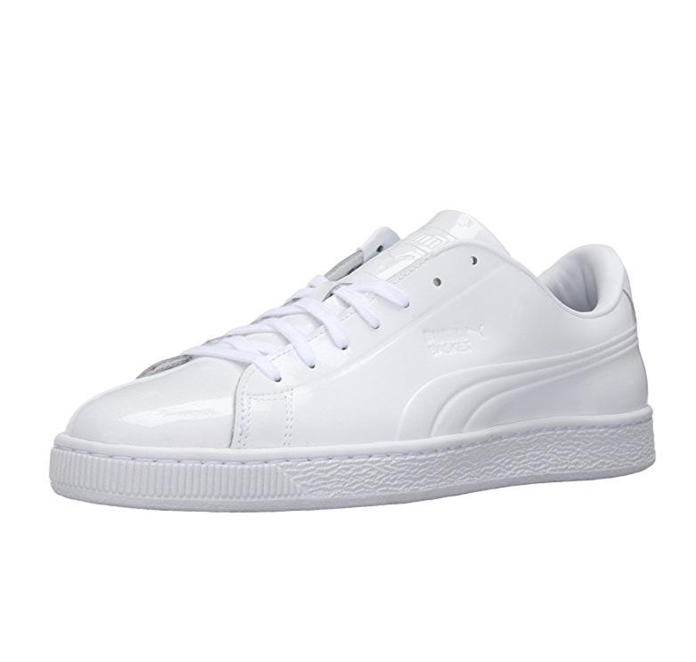 潮鞋!PUMA 彪馬 Basket Classic Patent 男子運動鞋板鞋, 現僅售$29.99