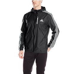 adidas 阿迪达斯 Essential Woven 连帽夹克,现仅售$35.00,免运费