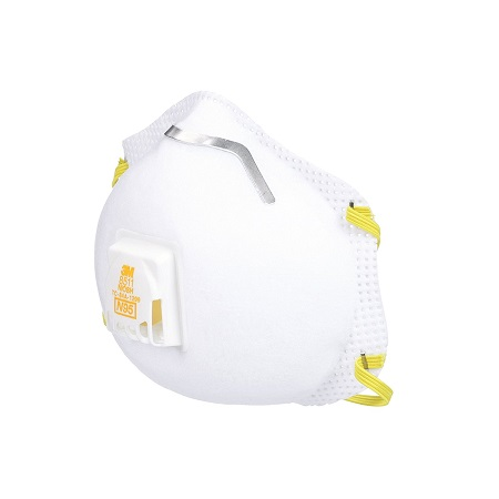 3M 8511 防颗粒物雾霾 带呼气阀口罩,10只装, 原价$18.99 ,现仅售$13.75,免运费