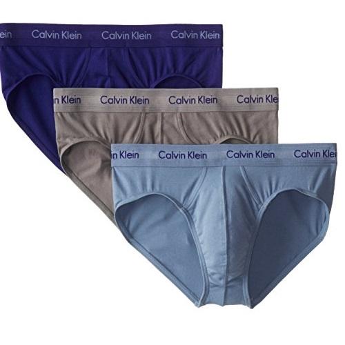 史低价!Calvin Klein   经典100%纯棉内裤,3条装, 原价$40.00,现仅售$17.50。白色款同价!