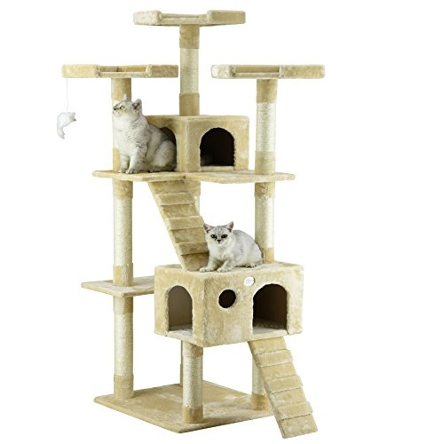 Go Pet Club 72英寸高猫树,现仅售$69.00 , 免运费