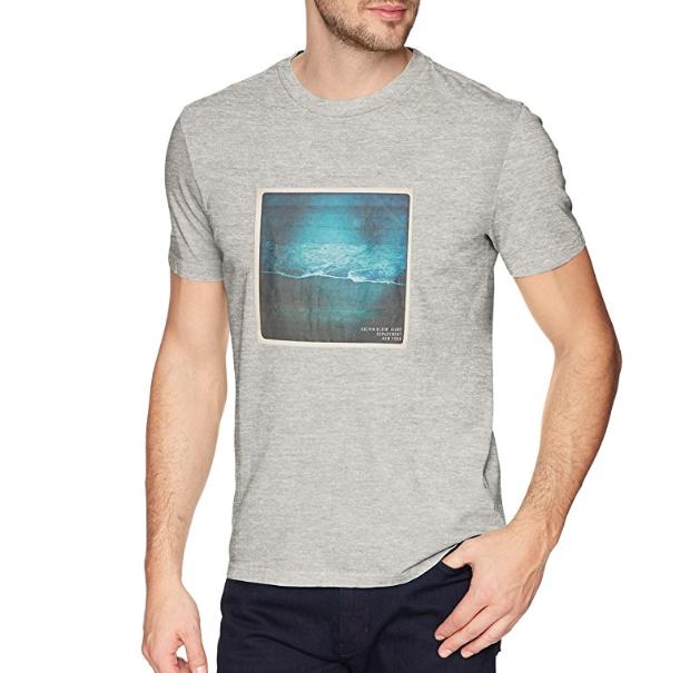 两色可选!Calvin Klein 男士短袖T恤, 现仅售$13.73