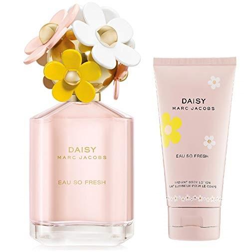 Marc Jacobs 淡雅雏菊经典女士香水2件套,官网价值$127.00, 现仅售$66.99 ,免运费