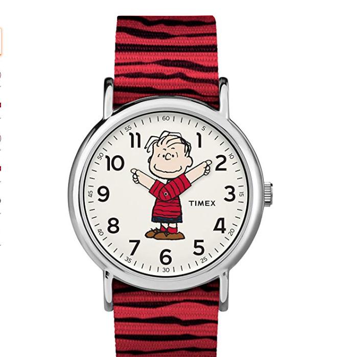 天美时(TIMEX) 石英腕表 TW2R41100, 现仅售$39.97, 免运费!