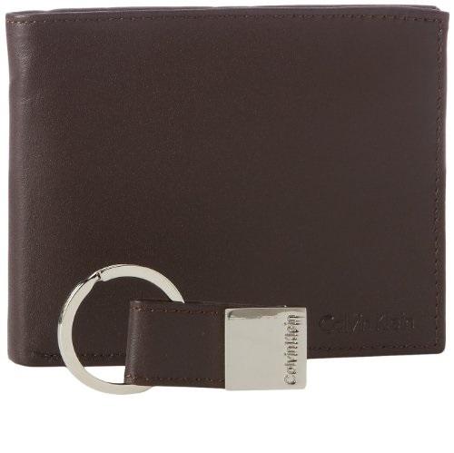 Calvin Klein RFID Blocking  真皮钱包,原价$24.99,现仅售$17.99
