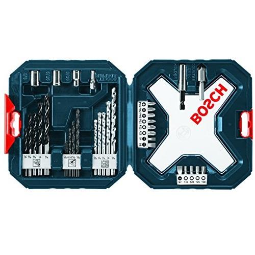 史低价!Bosch 钻头 螺丝刀头 34件套 工具组,现仅售$5.93