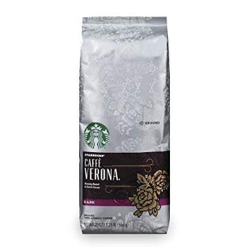 星巴克 深度烘焙 Verona 咖啡粉 20oz,现点击Coupon仅售$8.48,免运费
